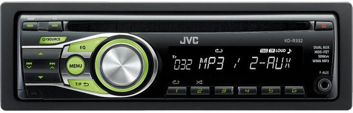 JVC KD R332