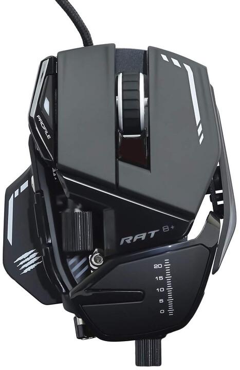 Mad Catz R.A.T. 8+, černá