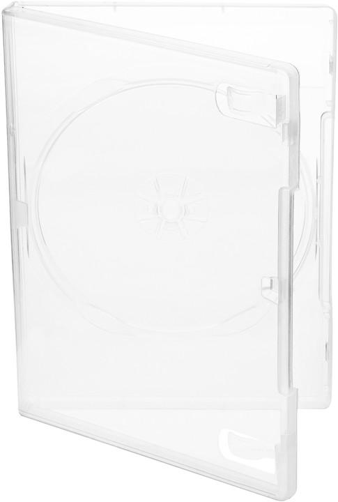 Cover It box:1 DVD 14mm super čirý - karton 100ks