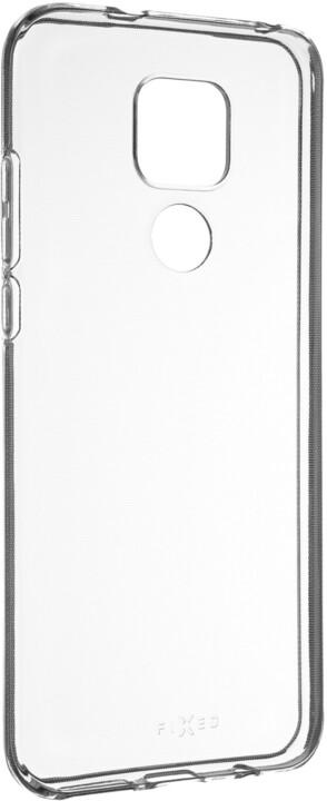 FIXED gelové pouzdro pro Motorola Moto G Play (2021), čirá