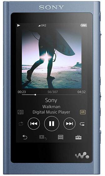 Sony NW-A55L, 16GB - modrá