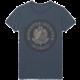 Tričko Monster Hunter World - Vintage Emblem, modré (XL)