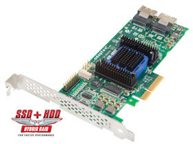 ADAPTEC RAID 6805 Entry Single SAS 2/ SATA 2, PCI Express x4, 8 portů