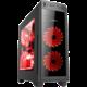 1stCool Gamer 2, USB 3.0, čtečka karet, černá