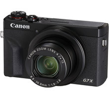 Canon PowerShot G7 X Mark III, černá - 3637C002