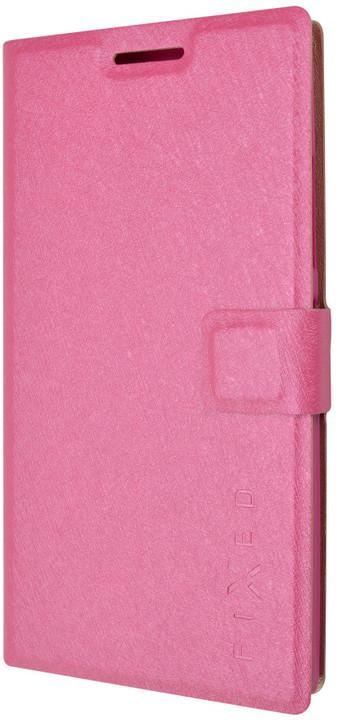 FIXED s gelovou vaničkou pouzdro pro Lenovo P70, růžová
