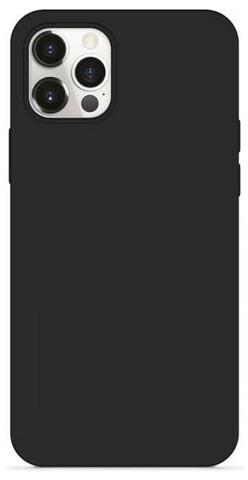 EPICO silikonový kryt Magnetic pro iPhone 12/12 Pro, kompatibilní s MagSafe, černá