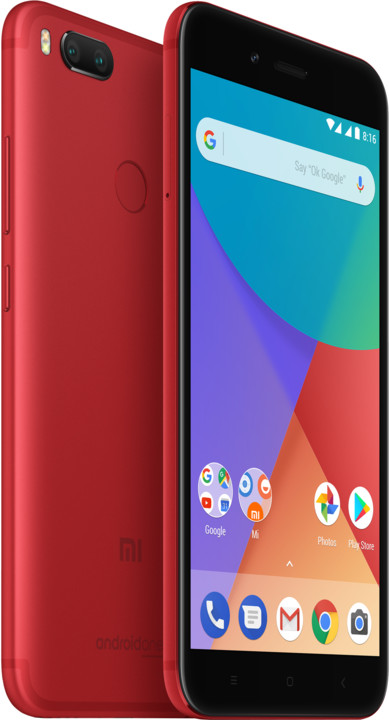 Xiaomi Mi A1 - 64GB, Global, červená
