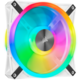 Corsair QL140 RGB, 1x140mm, bílý