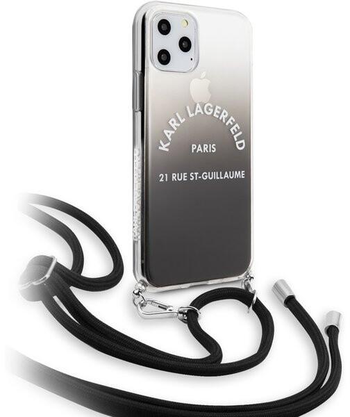 KARL LAGERFELD Gradient kryt pro iPhone 11