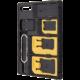 FIXED Adaptér SIM karet , nanoSIM na microSIM a miniSIM karty/z microSIM na mini SIM