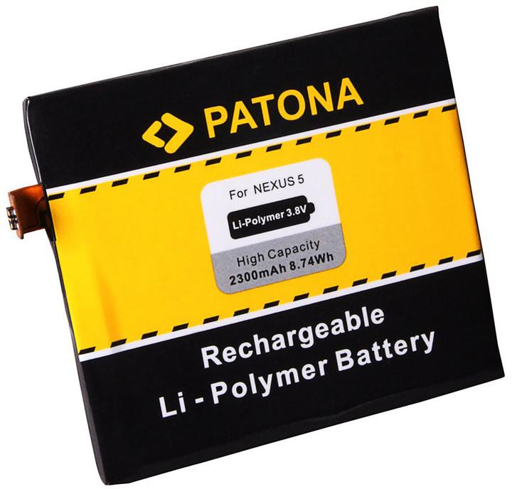 Patona baterie pro LG Nexus 5 D820 BL-T9 2300mAh 3,8V Li-pol
