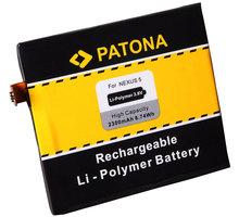 Patona baterie pro LG Nexus 5 D820 BL-T9 2300mAh 3,8V Li-pol PT3090