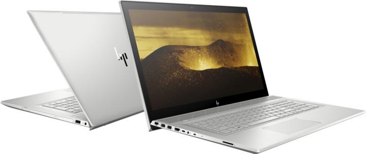 HP ENVY 17-bw0001nc, stříbrná