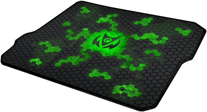 C-TECH Anthea Cyber, zelená, látková