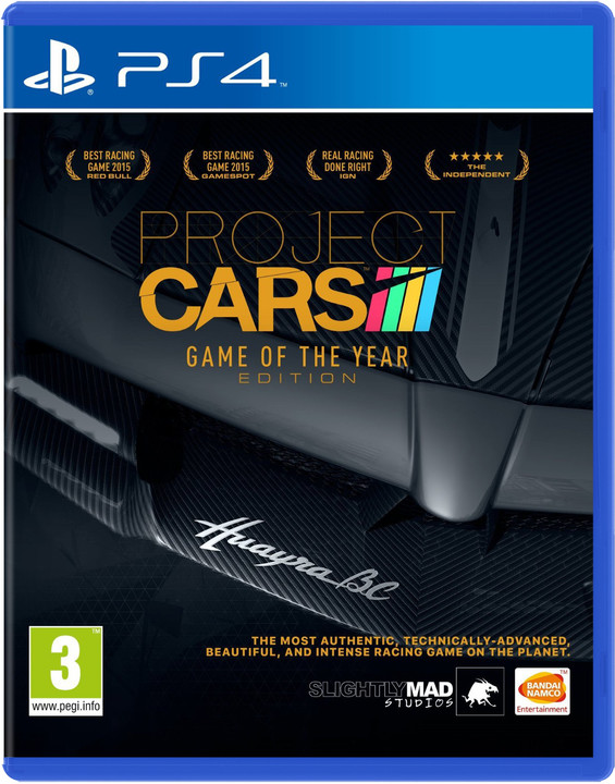 Project CARS: Game of the Year Edition (PS4)