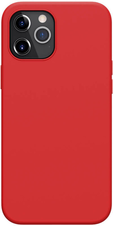 "Nillkin silikonové pouzdro Flex Pure Liquid pro iPhone 12 Pro Max (6.7""), červená"