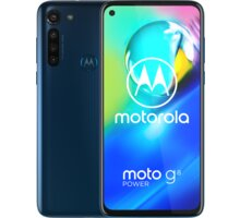 Motorola Moto G8 Power, 4GB/64GB, Capri Blue - MOTOG8PWRBLUE