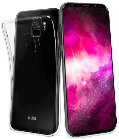 SBS Skinny pouzdro pro Samsung Galaxy S9, transparentní