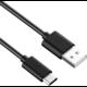 PremiumCord kabel USB 3.1 C/M - USB 2.0 A/M, rychlé nabíjení proudem 3A, 1m