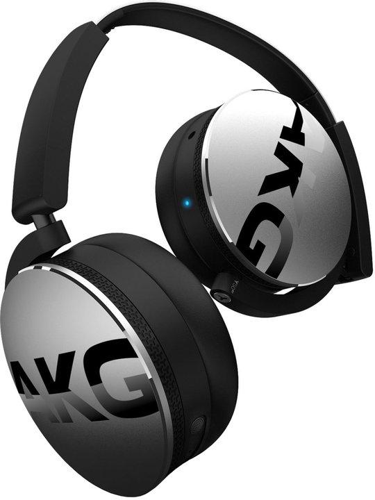 AKG Y50BT, stříbrná