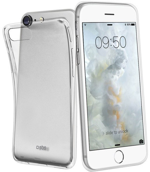 SBS Aero pouzdro pro iPhone 8/7/6S/6, transparentní