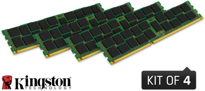 Kingston System Specific 64GB (4x16GB) DDR3 1600 Reg ECC brand HP