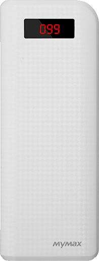 iMyMax Carbon Power Bank 20.000mAh, bílá