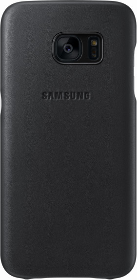 Samsung EF-VG930LB Leather Cover Galaxy S7, Black