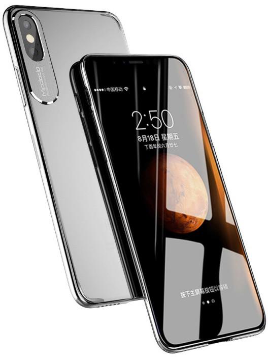 Mcdodo iPhone X Sharp Aluminum Alloy Case, Transparent