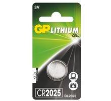 GP, lithium, CR2025, 170mAh, 1ks - 1042202511