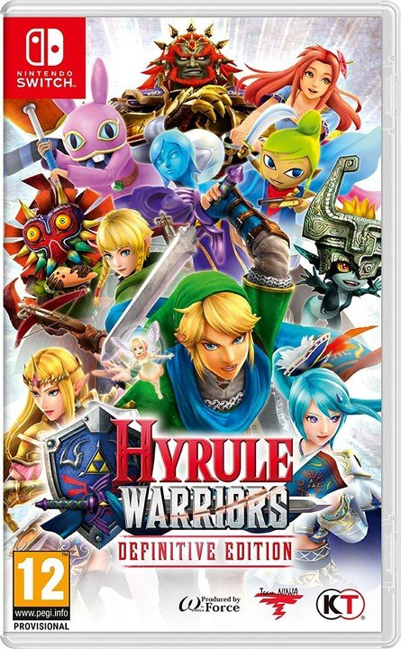 Hyrule Warriors: Definitive Edition (SWITCH)