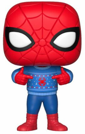 Funko POP! Bobble-Head Marvel - Spider-Man Holiday Ugly Sweater