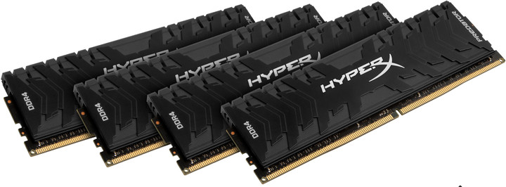 Kingston HyperX Predator 16GB (4x4GB) DDR4 3200