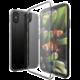 EPICO TWIGGY GLOSS ultratenký plastový kryt pro iPhone X - bílý transparentní  + EPICO Nabíjecí/Datový Micro USB kabel EPICO SENSE CABLE