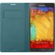 Samsung EF-WN900BL flip pouzdro pro Galaxy Note 3, Mint