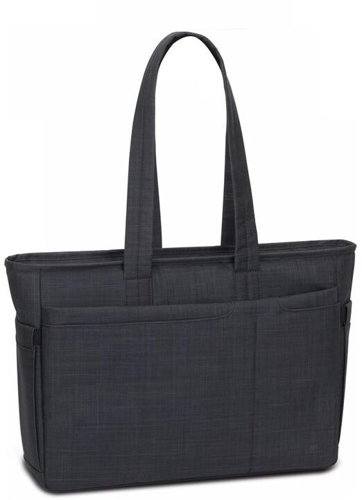"""RivaCase dámská taška na notebook 8391, 15.6"""", černá"""