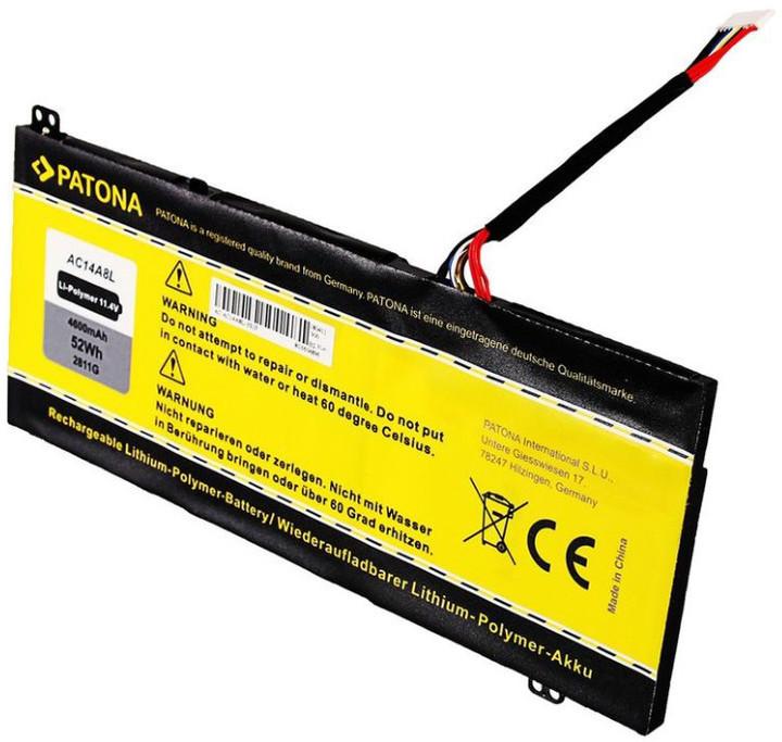 Patona baterie pro ntb ACER Aspire VN7 4600mAh Li-pol 11,4V AC14A8L