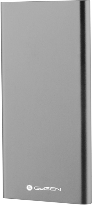 GoGEN power bank 5000 mAh PB50001GR, šedá