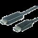 PremiumCord DisplayPort na HDMI kabel 3m M/M