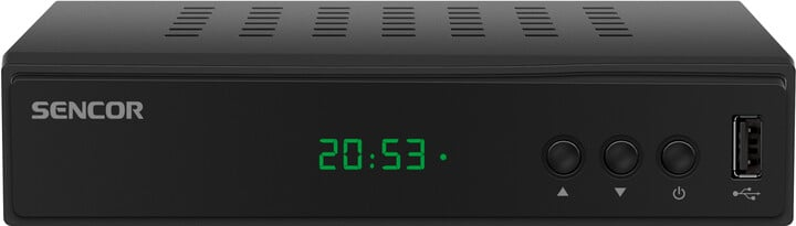 Sencor SDB 5005T, DVB-T2, černá