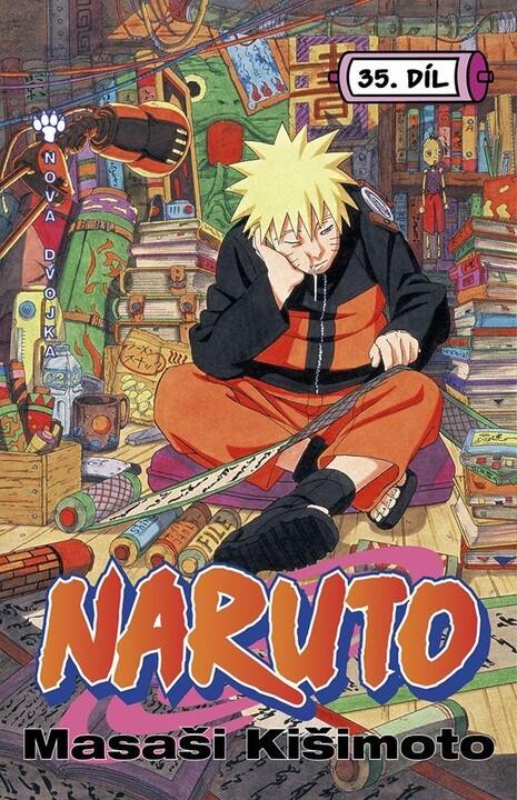Komiks Naruto: Nová dvojka, 35.díl, manga