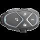 CellularLine Bluetooth handsfree pro uzavřené a otevřené přilby Interphone AVANT, Single Pack