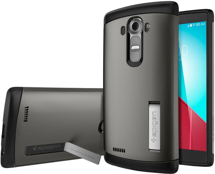 Spigen Case Slim Armor pro LG G4, gunmetal
