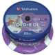Verbatim DVD+R Printable DL 8x 8,5GB spindle 25ks
