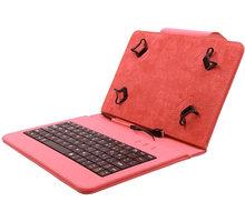 """C-TECH PROTECT NUTKC-01, pouzdro s klávesnicí pro 7-7.85"""", červená - NUTKC-01R"""