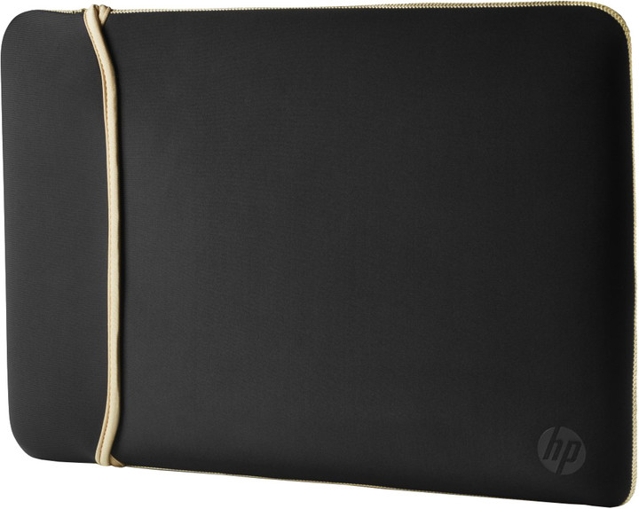 "HP 14.0"" Reversible Sleeve – Black/Gold"