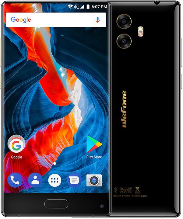 Ulefone MIX DS, 64GB, černá