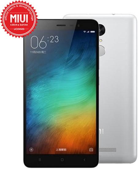 Xiaomi Note 3 - 16GB, stříbrná