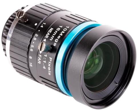 Raspberry Pi objektiv 16mm pro HQ kameru